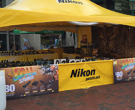 Nikon LL Bean Dealer Show