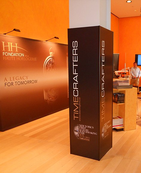 Timecrafters Luxury Watch Show Event Branding