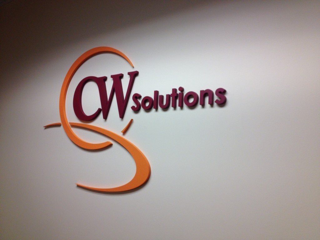CW solutions logo install 2
