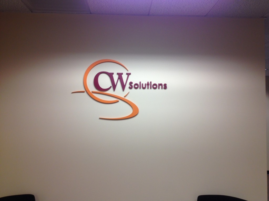 CW solutions logo install 3