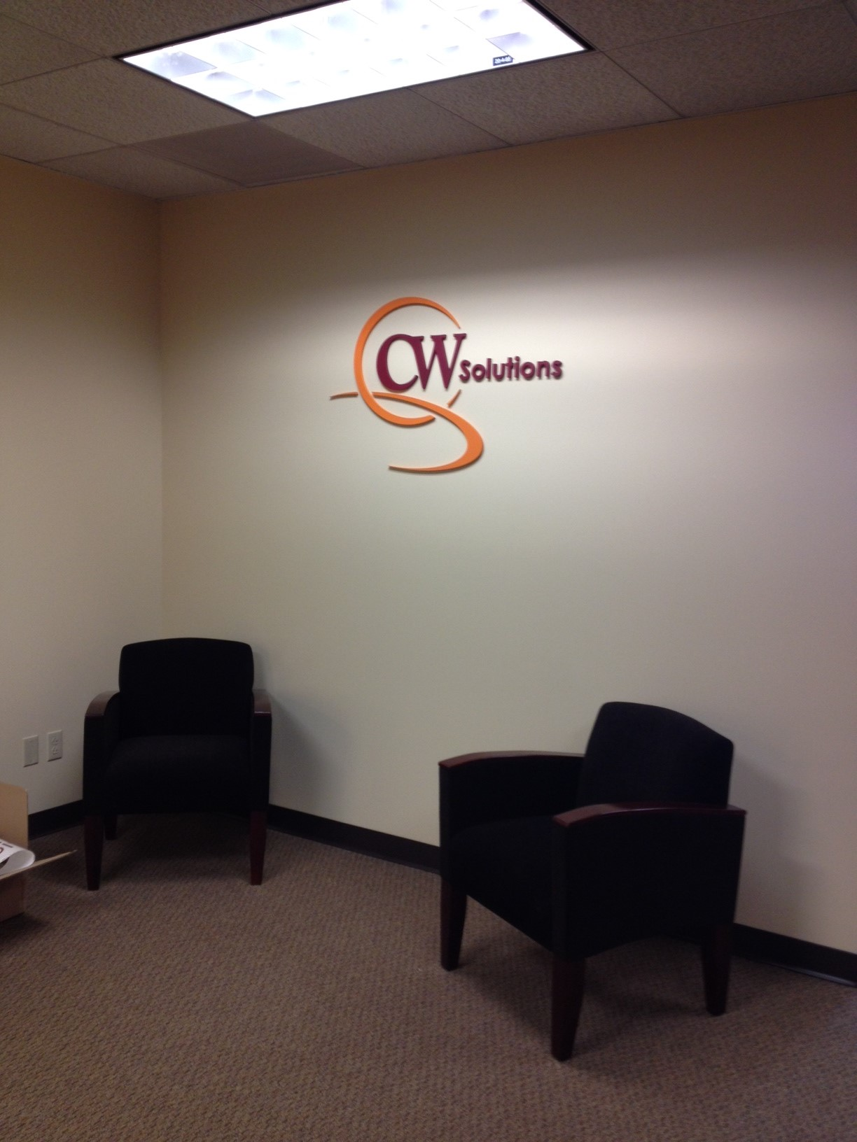 CW solutions logo install 4
