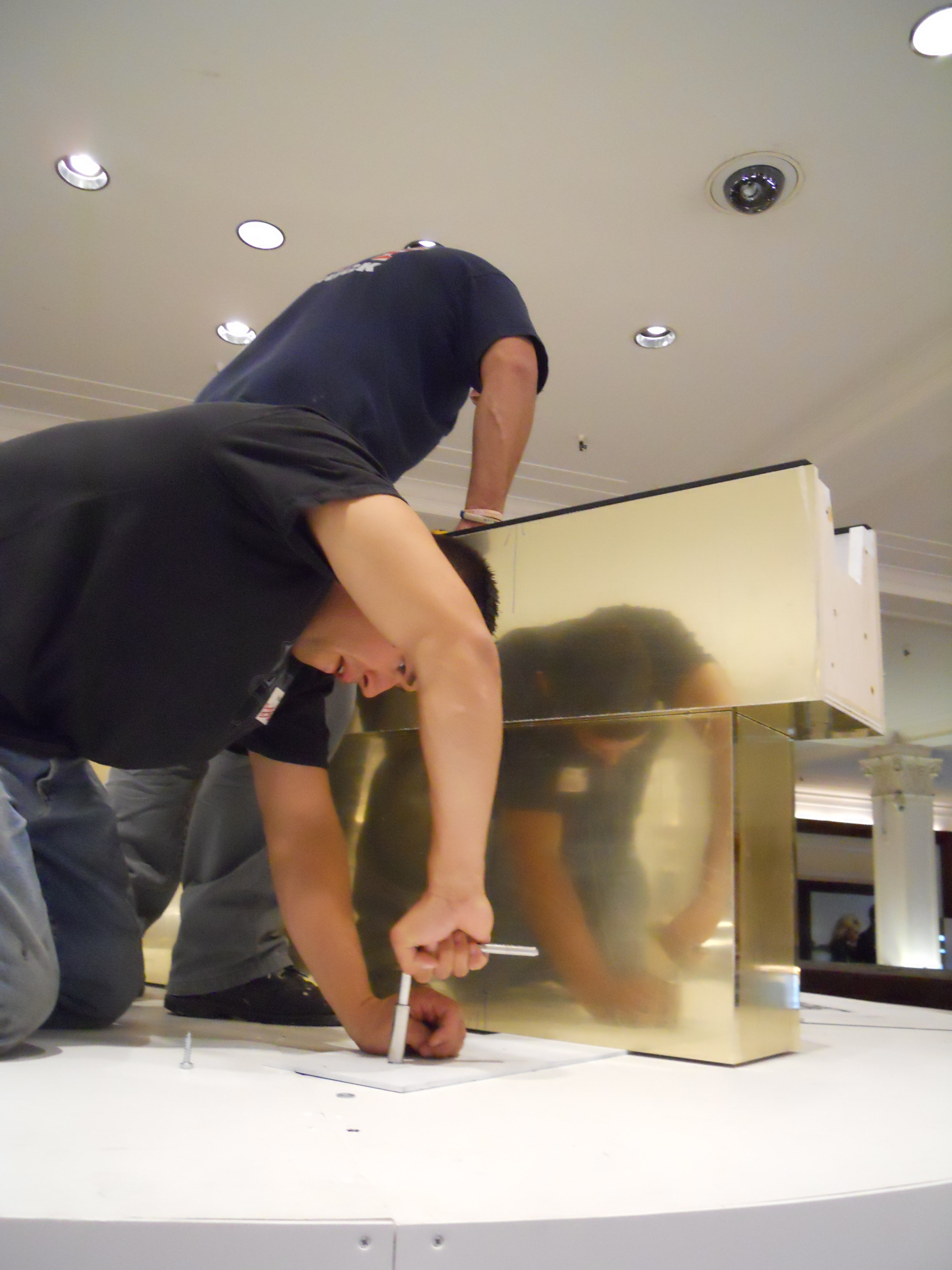 Display Booth Fabrication for Estee Lauder