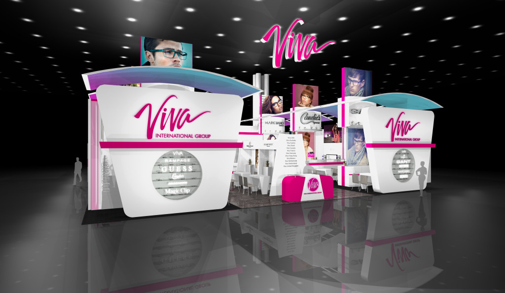 Display Booth Design for Viva