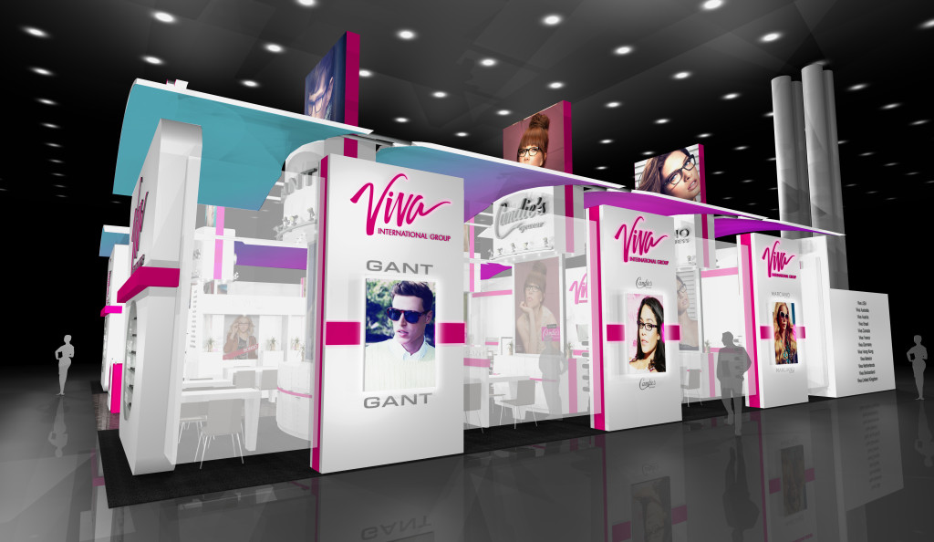 Custom Trade Show Display - Viva