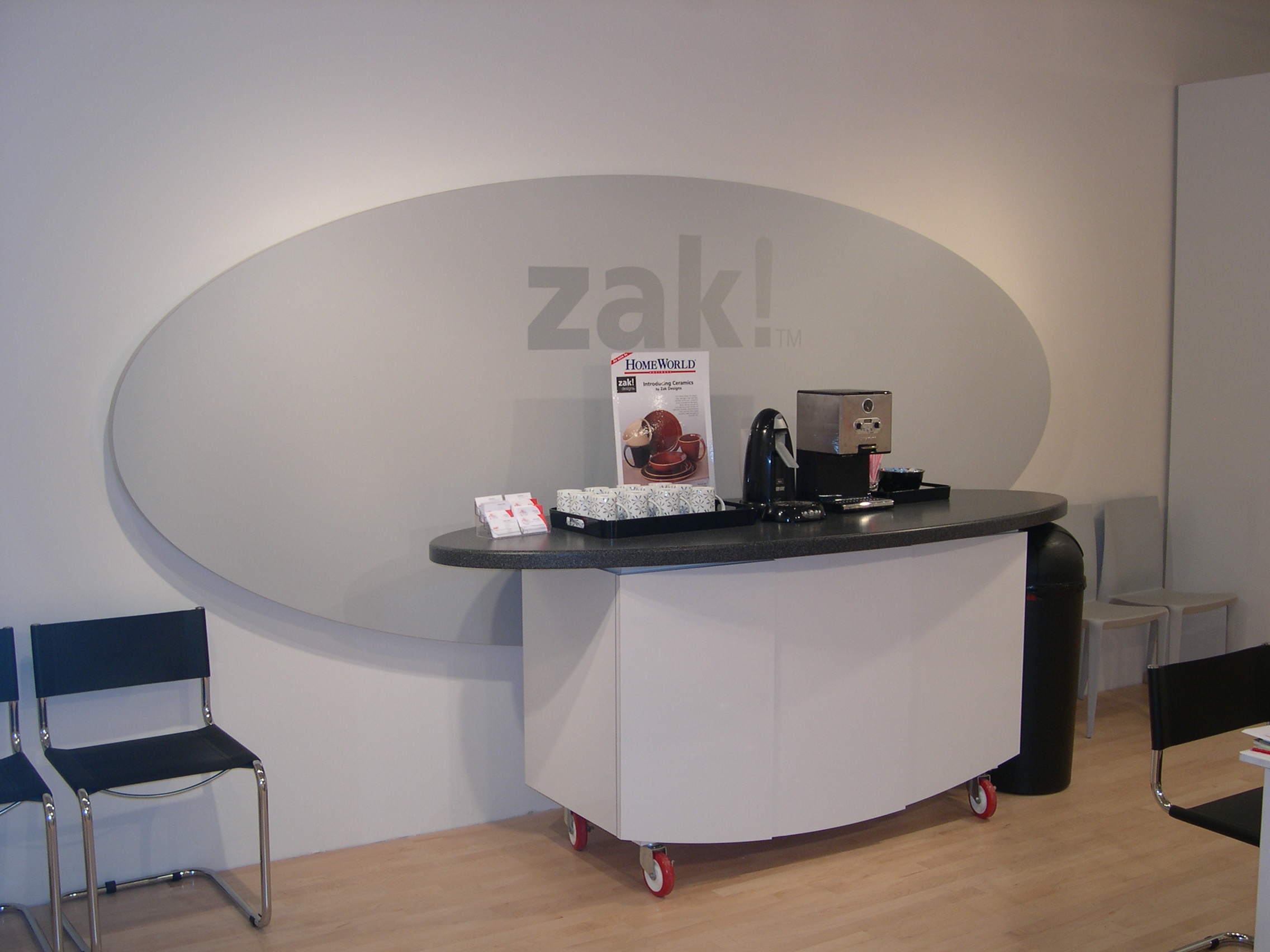 Custom Trade Show Display Design for Zak