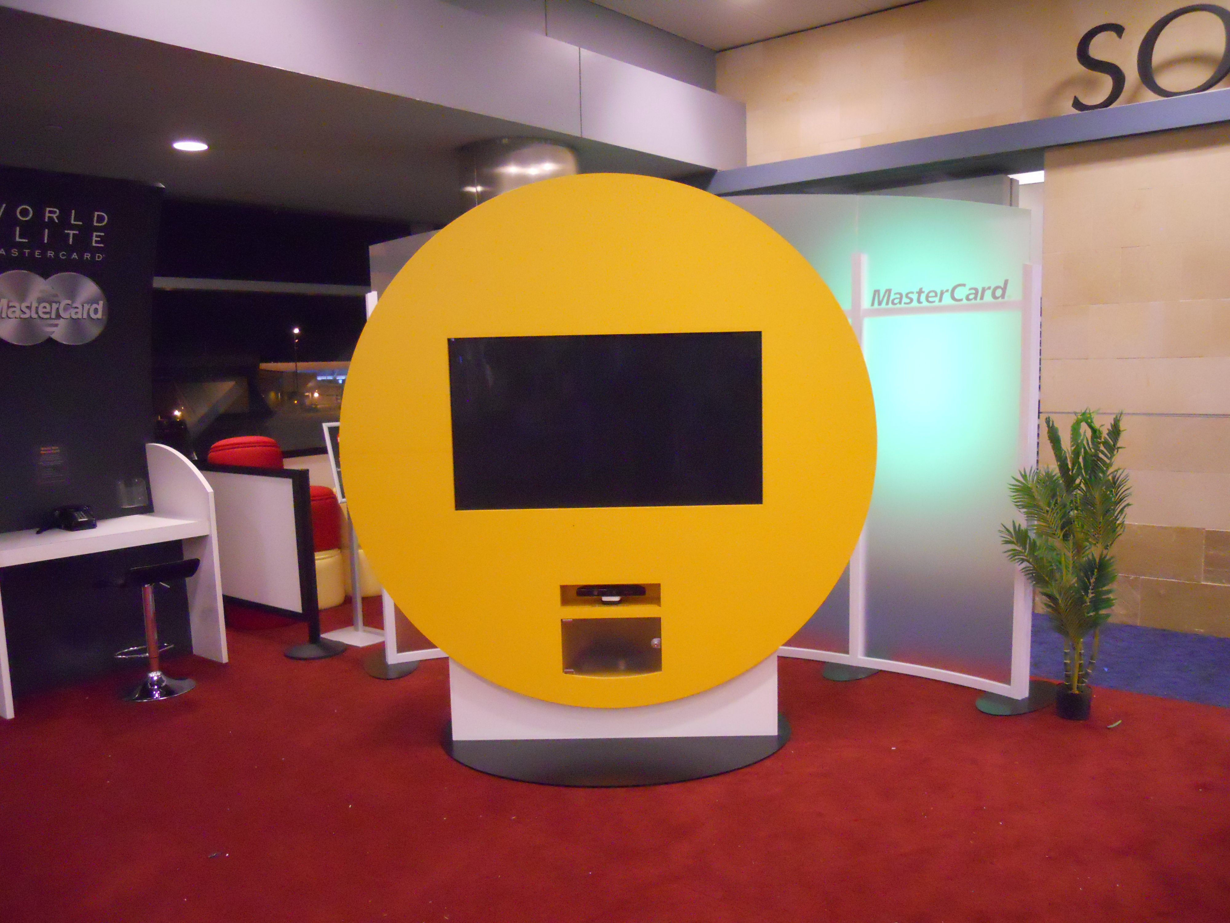 Custom Exhibit Displays for MasterCard