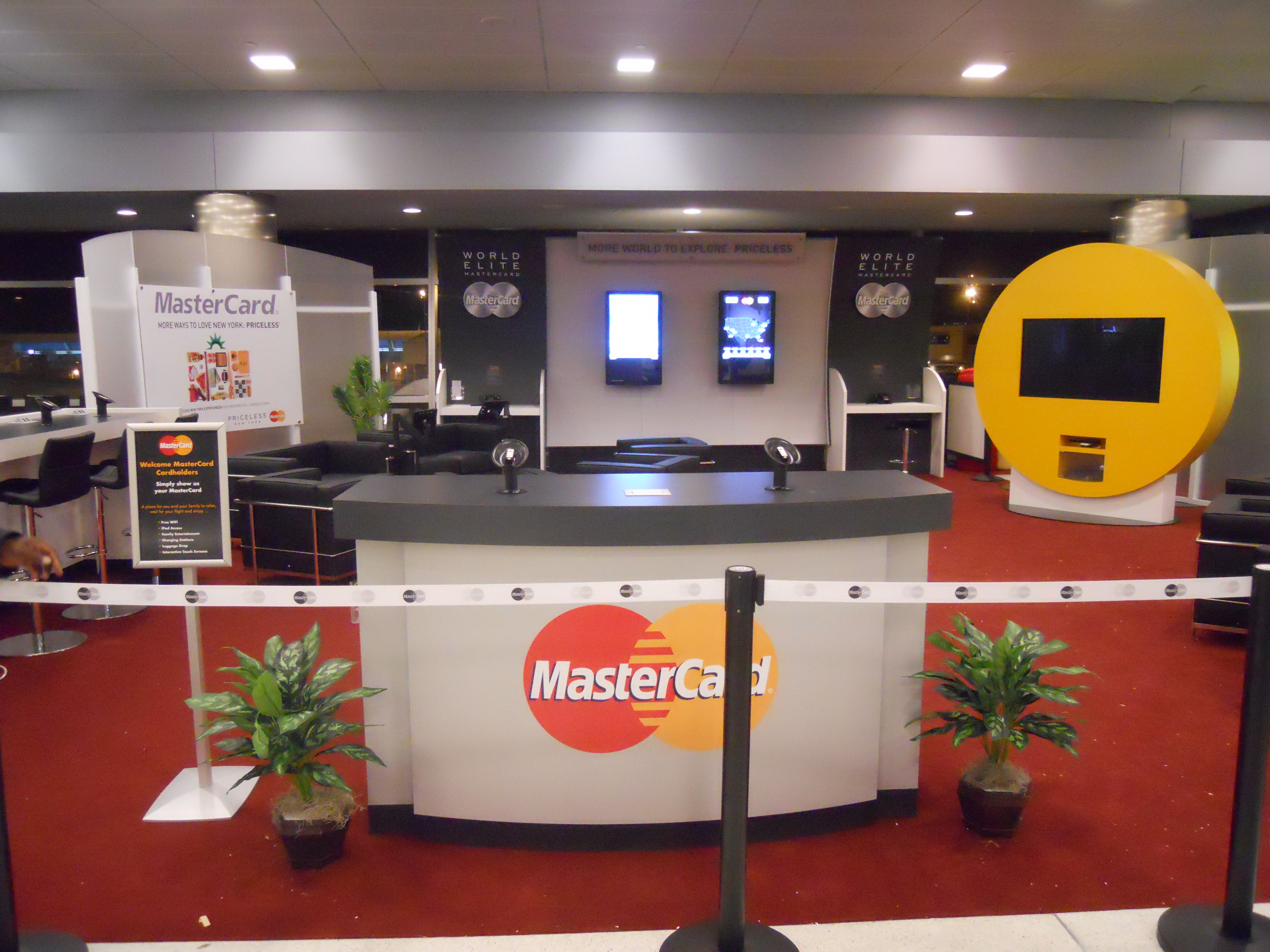 Unique Trade Show Booths for MasterCard