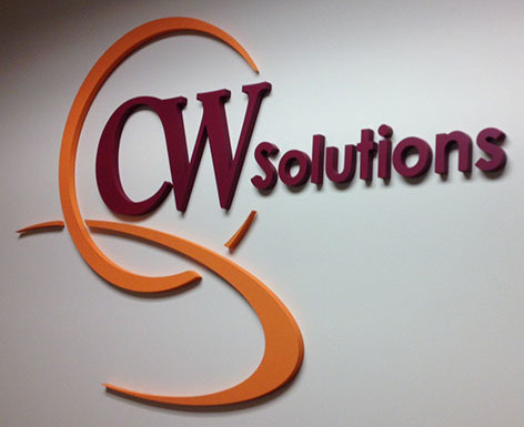 CW Solution Office Tower Logo