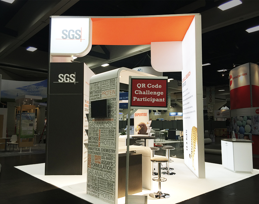 Custom Trade Show Displays for SGS