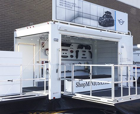 Mini Aftersales Mobile Trailer