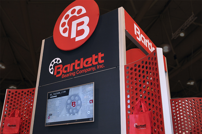Trade Show Booth Designers for Bartlett Bearing Company