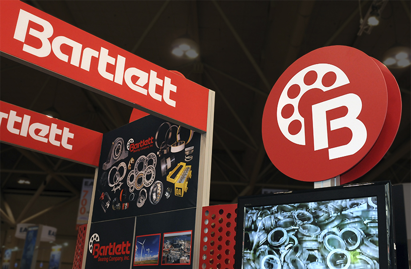 Display Booth Design for Bartlett Bearing Company