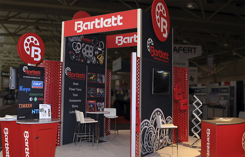 Corporate Event & Trade Show Management for Bartlett Bearing Company