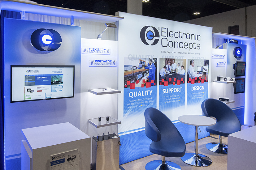 Corporate Event Branding for Electronic Concepts Inc