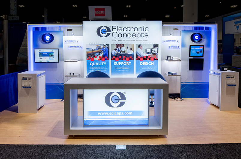 Electronic Concepts trade show display